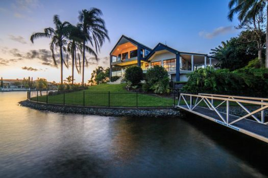 POINT POSITION ENTERTAINER WITH WIDE WATERFRONT (Ray White Broadbeach)