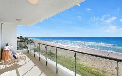 Enjoy an enviable, absolute beachfront lifestyle in Mermaid Beach (McGrath Palm Beach)