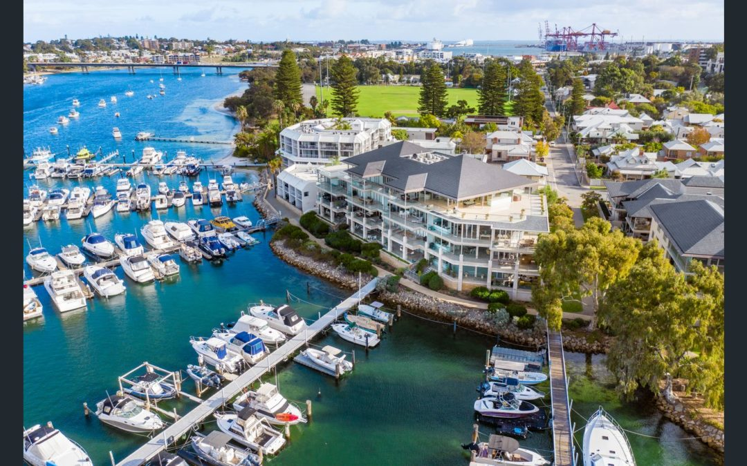 Majestic Riverfront Penthouse (Fine & Country – Perth)