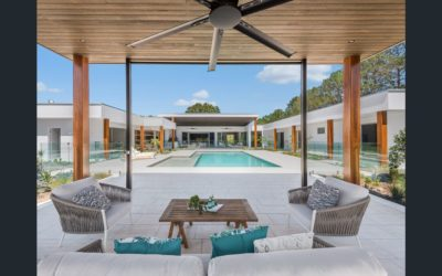 Modern Minimalist Masterpiece, on 2.5 Lush Acres (QLD Sotheby's International Realty)