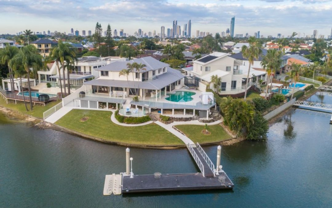 Point Position Perfection on Sprawling 1,136 sqm with 40m Waterfrontage! (Ray White Broadbeach)