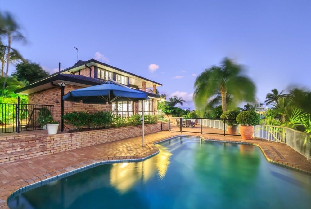Point Position, Large 999m² Block, 34.7m Waterfront & Moments from Main River (Ray White Broadbeach)
