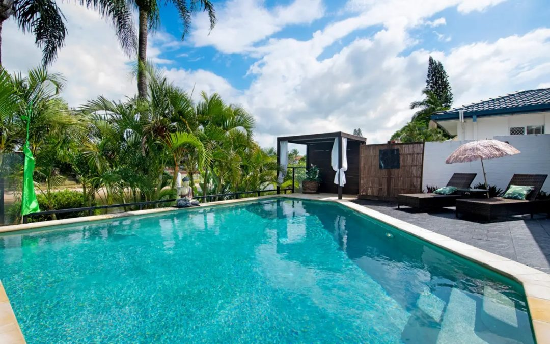 Balinese Holiday-at-Home Waterfront Sanctuary (Ray White Mermaid Beach)