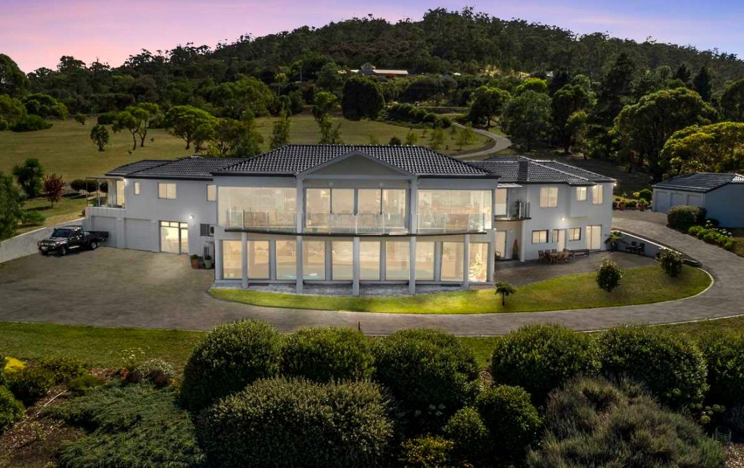 Picturesque and Panoramic: Prized 2.03ha Ralph's Bay Estate (Harcourts Hobart))