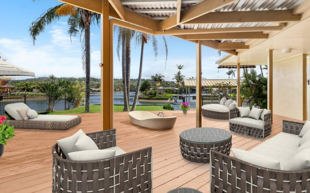 Single Level Waterfront Living and a Lifestyle to Love (Harcourts Coastal)