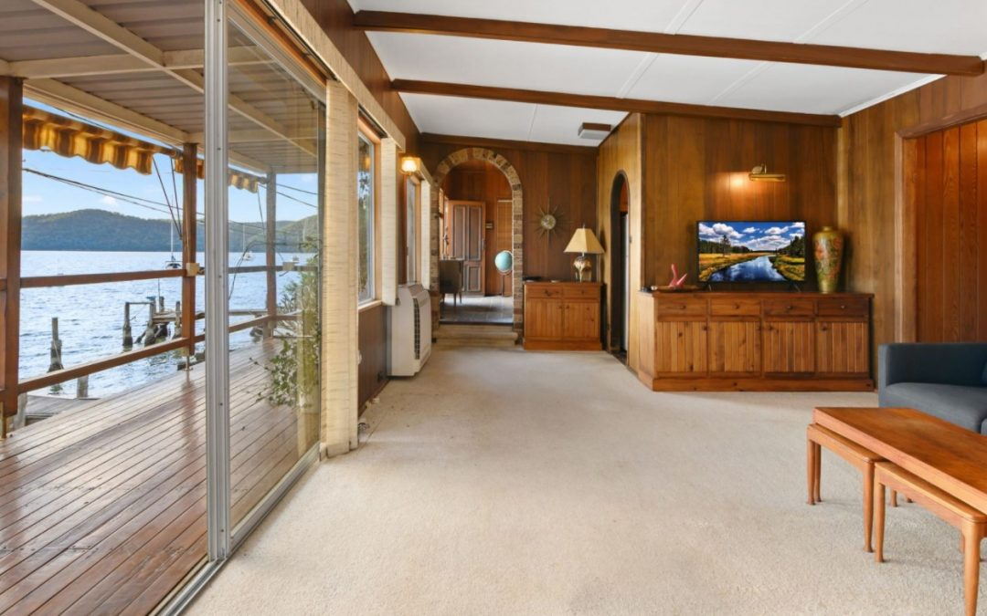 Step Back in Time to a Unique Absolute Waterfront Gem (Riverfront Real Estate)