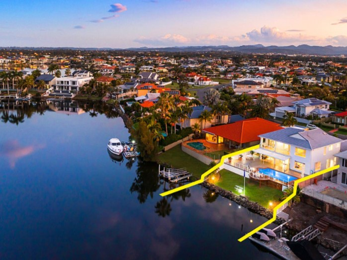 Sprawling Family-Friendly Entertainer on a 928m2 Waterfront Estate (Ray White Broadbeach Waters)