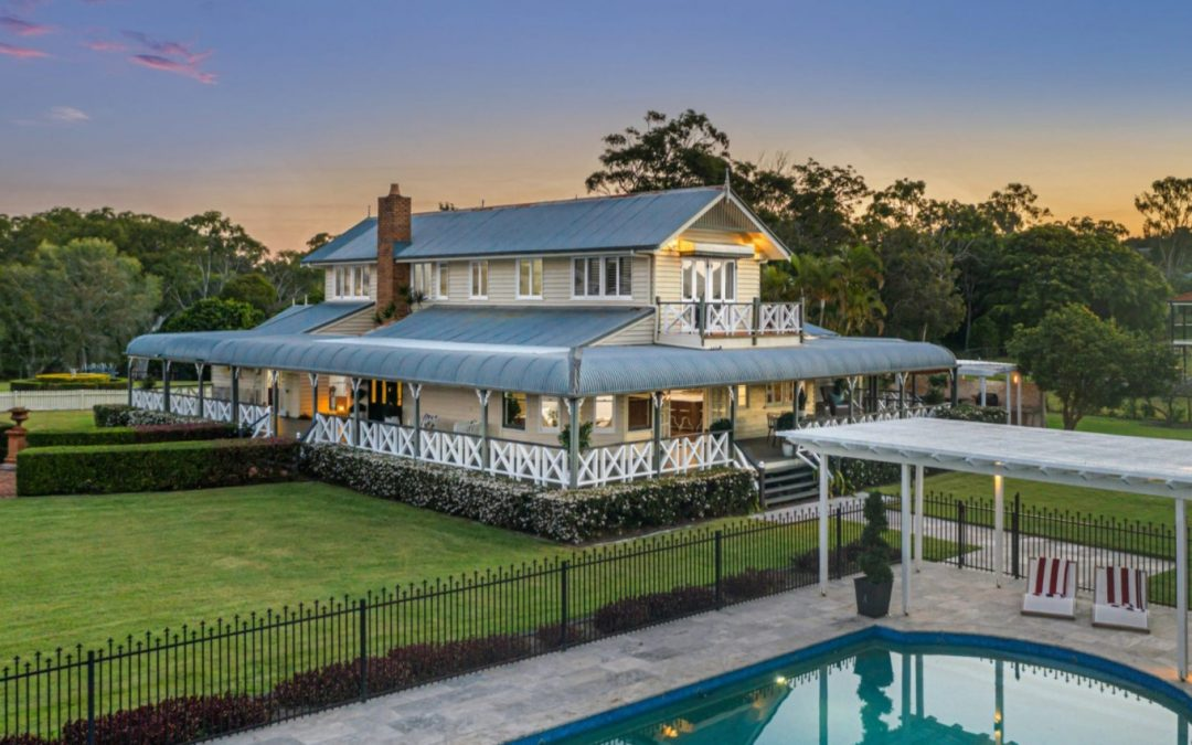 """""""Seaview Place"""": An Acreage Sanctuary of Timeless Grandeur (QLD Sotheby's International Realty)"""